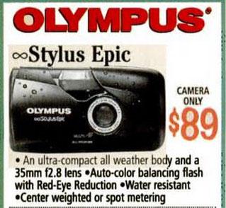 OlympusEpicPrice