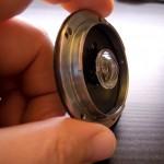 Worlds Thinnest pancake lens